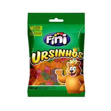 Bala de gelatinas ursinhos Fini 100g