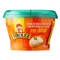 Creme de ricota zero lactose Tirolez 159g