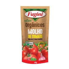 Molho de Tomate concentrado orgânico Fugini Sachê 340g