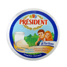 Queijo fundido pocessado President 140g