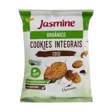 Cookies Integrais orgânico coco  Jasmine 150g