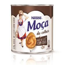 Doce de leite com coco de colher Moça Nestlé 370g