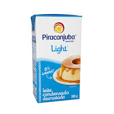 Leite condensado light Piracanjuba 395g