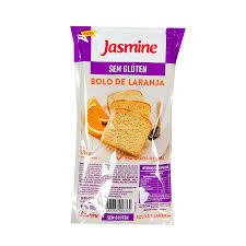 Bolo sem glúten laranja com chia Jasmine 300g