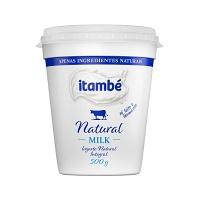 Iogurte integral Milk natural Itambé 500g