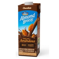 Bebida vegetal com amêndoas sabor chocolate Almond Breeze 1lt.