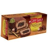 Bolo premium avelã e chocolate Casa Suiça 270g