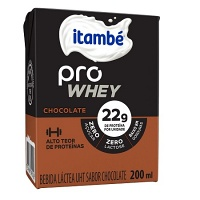 Bebida láctea Pro Whey chocolate Itambé  200ml