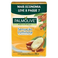 Sabonete Palmolive Naturals Sensação Luminosa 8x85g