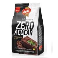 Mistura para bolo premium Apti chocolate suíço zero açúcar 300g