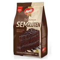 Mistura para bolo Apti chocolate sem glúten 400g