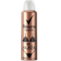 Desodorante aerosol Anitta Vai Malandra Rexona  150ml