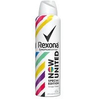 Desodorante aerosol unissex Now United Rexona 90g.