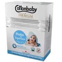 Hastes flexíveis Cottonbaby premium 50x1