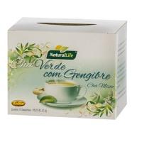 Chá verde com gengibre Natural Life 22,5g