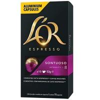 Cápsulas de café L'or Sontuoso 10x52g