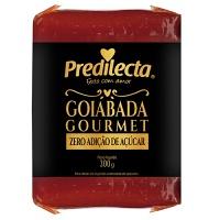 Goiabada Gourmet sem adição de açuçar Predilecta 300g.
