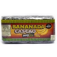 Bananada cascão zero açucar Samar 300g