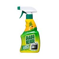 Limpa forno Diabo Verde spray extrato de laranja 300ml