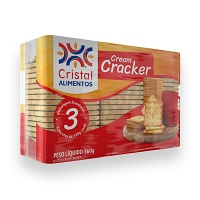 Biscoito cream cracker Cristal 360g