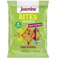Biscoito snack Bites mediterrâneo orgânico Jasmine 25g