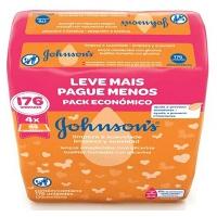 Kit toalha umedecida Johnson's Baby Limpeza e Suavidade (176 unid.)