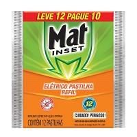 Repelente  Mat Inset pastilha refil (12 unid.)