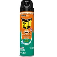 Inseticida aerossol multi insetos com óleo de eucalipto Raid 285ml