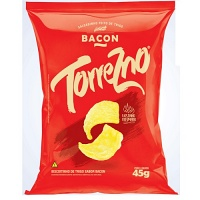 Salgadinho de trigo sabor bacon Torrezno 45g