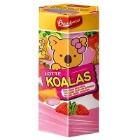 Biscoito recheado morango Koalas Bauducco 37g