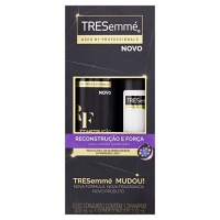 Kit shampoo e condicionador Reconstrução e Força Tresemmé