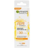 Creme Hidratante facial Garnier Skin Active Uniform Matte 30 FPS 15g