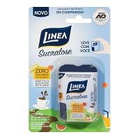 Adoçante sucralose em comprimidos Linea 6g (100 unid.)