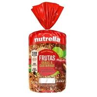 Pão integral frutas, grãos e castanhas Nutrella 550g
