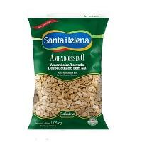 Amendoim torrado Amendoíssimo despeliculado sem sal Santa Helena 1,05kg