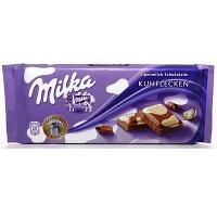 Chocolate mesclado ao leite e branco Milka Happy Cows 100g