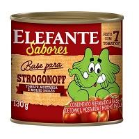 Extrato de tomate Elefante base para strogonoff 130g