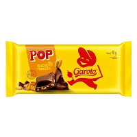 Chocolate ao leite com milho torrado Pop Garoto 90g