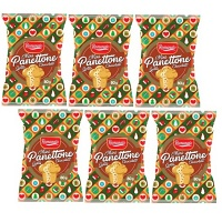 Kit mini panettone gotas de chocolate Romanato 80g (6 unid.)