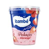 Iogurte Itambé Pedaços morango 500g