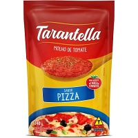 Molho de tomate sabor pizza Tarantella sachê 340g