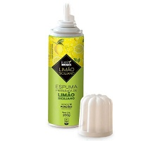 Espuma de limão siciliano spray Easy Drinks 200g