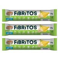 Fibritos integral leve sabor banana Biosoft 75g
