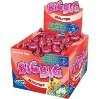 Chiclete Big Big morango 100x1