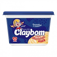 Margarina com sal sabor manteiga Claybom 500g