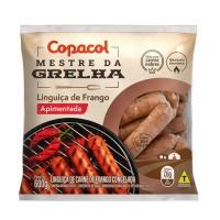 Linguiça de frango apimentada congelada Copacol 600g