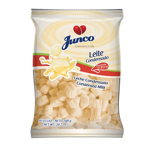 Balas de coco sabor leite condensado Junco 700g