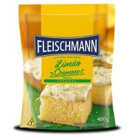 Mistura para bolo limão cremoso Fleischmann 450g