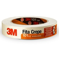 Fita crepe 3M 24mmx50mts - unidade