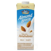 Bebida vegetal com amêndoas sabor baunilha Almond Breeze1L